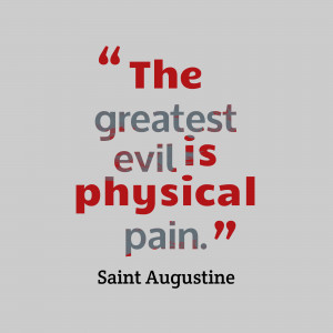 Notions of Evil in St Augustine's Confessions