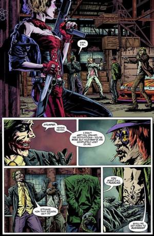 comic JOKER -Riddler/Harley Quinn