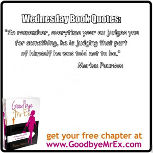 Wednesday Book Quotes are out! You want to get over your ex then let ...