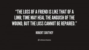 Loss of a Friend Quotes