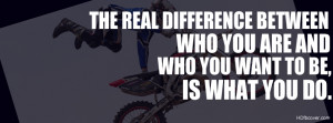 ... you are and who you want to be is what you do.Single click will upload