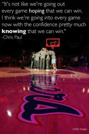 Chris Pauls quote.