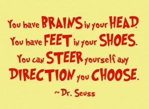 Motivation Friday: A quote by Dr. Seuss