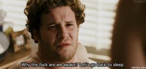 Let's go back to sleep.