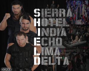 WWE WWE THE SHIELDS WALLPAPER 2013