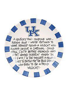Kentucky Wildcats Definition Plate