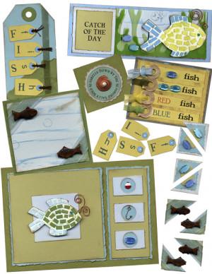 Kit Elements (Digital Scrapbooking) - One Fish Two Fish
