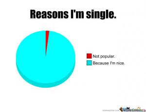 Reasons I Am Single