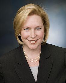 Kirsten Gillibrand 's senate portrait