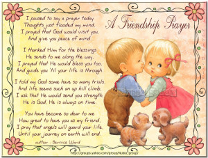 FRIENDSHIP PRAYER...