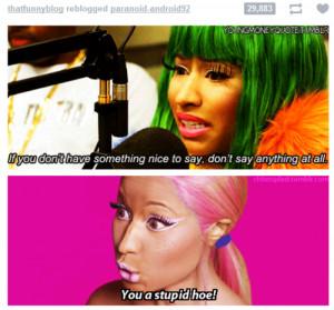 Go Back > Pix For > Nicki Minaj Funny Quotes