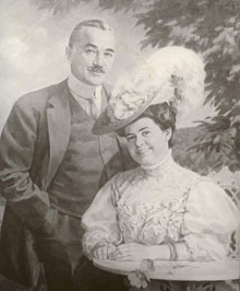 Milton Snavely Hershey and wife Catherine Sweeney Hershey, were to ...