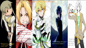 Anime Quotes About Dreams The famous quotes of anime
