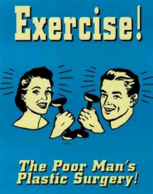 Funny exercise quote