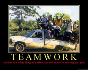 Funny ANTI Teamwork Quotes And Posters | Teamwork Quotes - FunnY