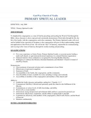 What Is A Pastor Examining The Biblical Job Description