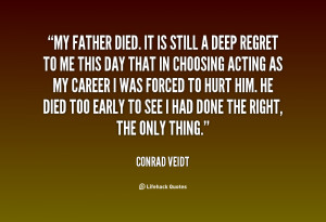 My Dad Passed Away Quotes