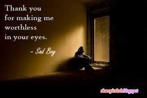 Sad Boy Boy Quote in English | Emotional Broken Heart Quotes For Love
