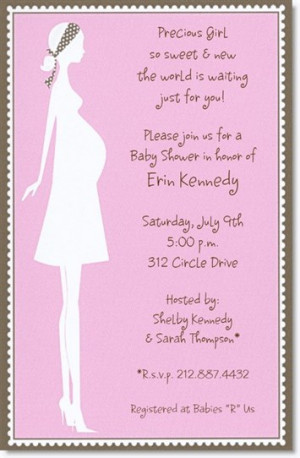 baby shower invitations wording ideas for girl