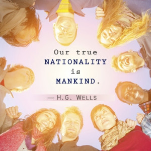 Against Racism Quotes H.g. wells anti-racism quote