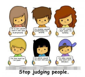 judging others, Image, Picture
