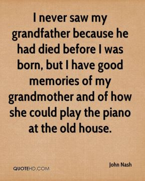 Grandfather Death Quotes