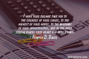 graduation-I hope your dreams take you to the corners of your smiles ...