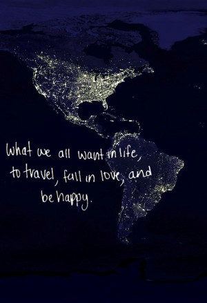 Travel around the world with you