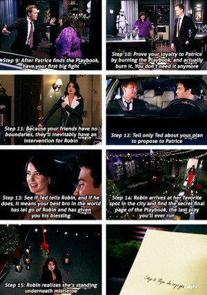 ... heck gotta move on to find his true wifey! Himym Barney and Robin