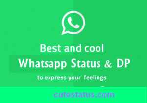 New cool status for whatsapp and facebook | cool quotes being awesome