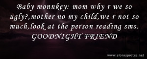 Funny Good Night Quotes...