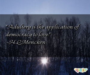 famous quotes adultery