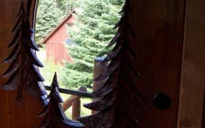 Log Cabin Entry Doors