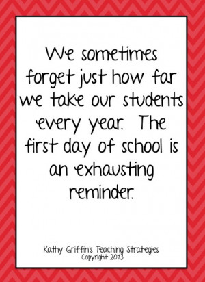 If you made it through your first day, congratulations!