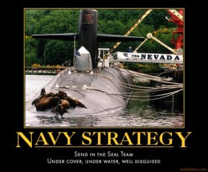 Motivational Posters Navy...