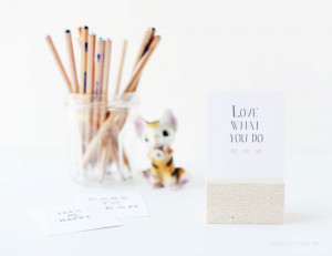 10 DIY: Cute Quote Block