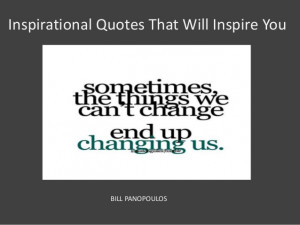 Inspirational Quotes That Will Inspire You