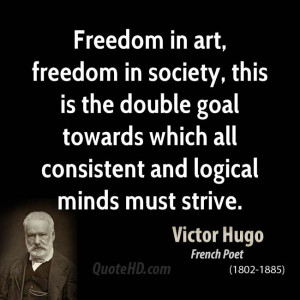 Victor Hugo Society Quotes