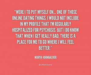 Quotes To Put On A Dating Website ~ dating quote 4 | BLONDE BRONZED ...