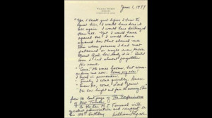 William C. Styron - Autograph Manuscript Signed