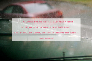 Rainy Tuesday Quotes Deal with was a rainy day.