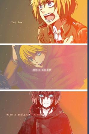 Armin Arlert Sleeping