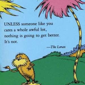 Source: Facebook.com Dr. Seuss's birthday was on Sunday.