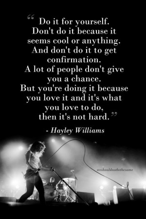Paramore Paramore quotes