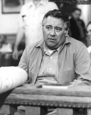 barry corbin as vernon wichard on the set of norma rae tv pilot not ...