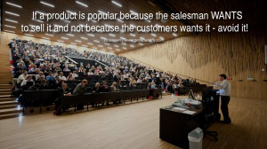 Salesman Quotes The salesman wants to