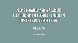 Serious Relationship Quotes