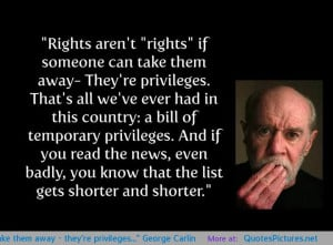 "Rights aren't ""rights"" if someone can take them away – they ..."