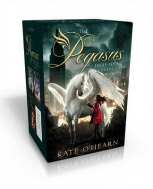 The Pegasus High-Flying Collection Books 1-4: The Flame of Olympus ...