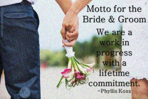 Bride and groom quotes